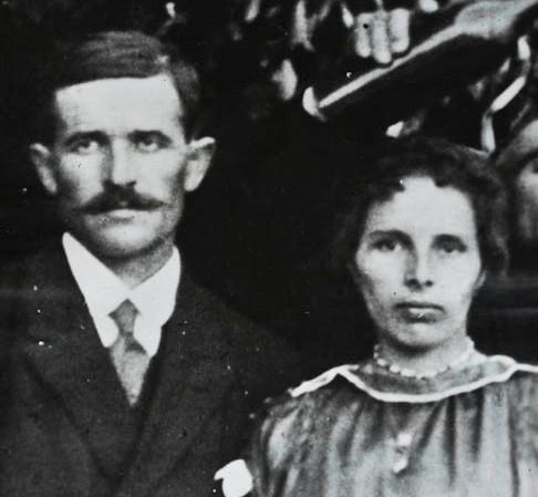 Мари и Аугуст Антини
